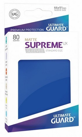 Supreme UX Sleeves Standard Matte - Blue (80)