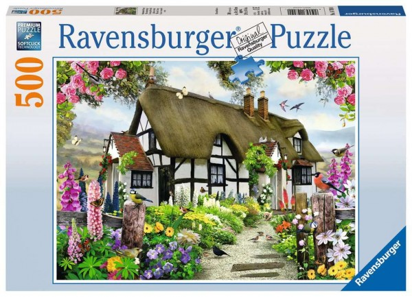 Puzzle: Verträumtes Cottage (500 Teile)