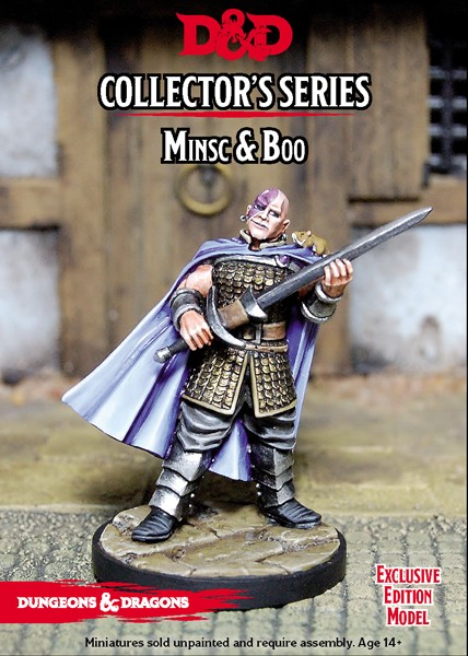 D&D Tomb of Annihilation Minsc & Boo Miniature * limitiert*