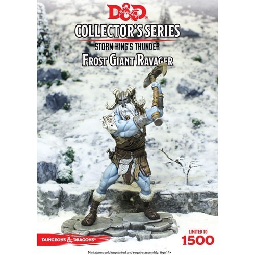 D&D: Icewind Dale - Rime of the Frostmaiden: Ravager Miniature *limitiert
