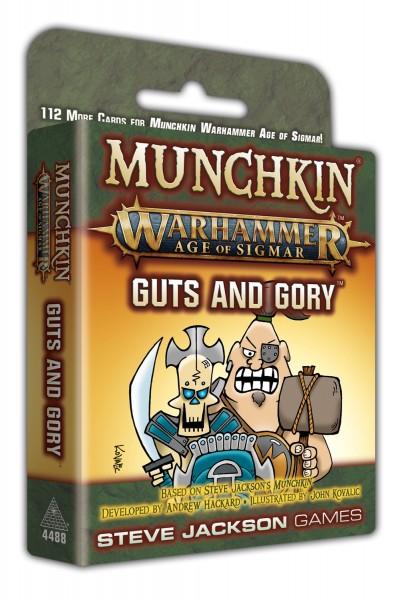 Munchkin Warhammer Age of Sigmar: Guts and Gory (englische Ausgabe)