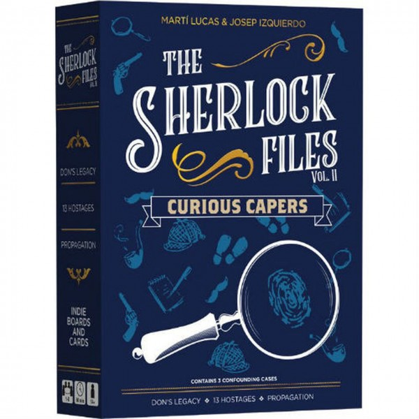 The Sherlock Files Curious Capers