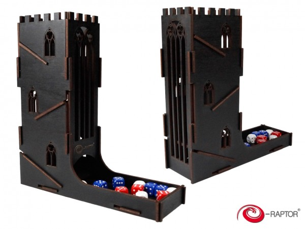 Dice Towers: Castle (Black)