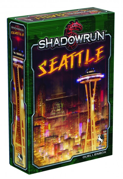 Shadowrun: Seattle - Stadt der Schatten (Box)