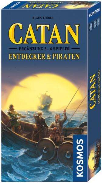 Catan: Entdecker & Piraten 5-6 Spieler [Erweiterung] *Neu*
