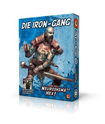 Neuroshima Hex! 3.0: Die Iron-Gang [Erweiterung] (Portal Games, deutsche Ausgabe)