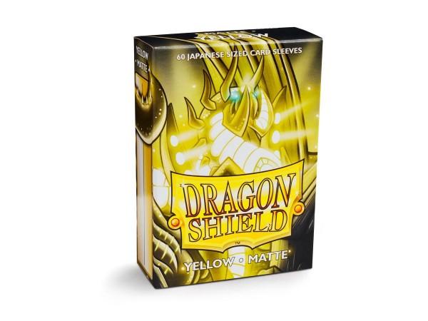 Dragon Shield: Japanese Matte – Yellow (60)