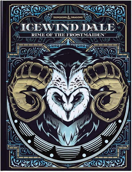 D&D: RPG Adventure Icewind Dale: Rime of the Frostmaiden (Alternate Cover)
