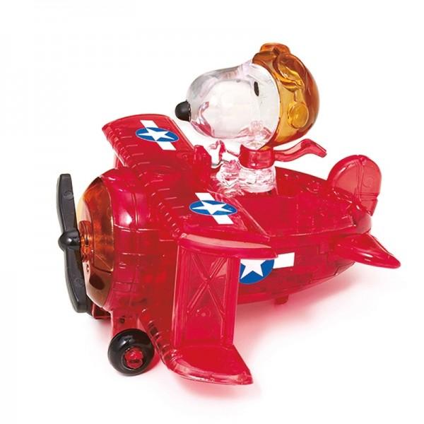 Crystal Puzzle: Snoopy im Flugzeug