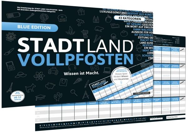 STADT LAND VOLLPFOSTEN – [Erweiterung] EINSTEIN EDITION (im DinA3-Format) ehemals BLUE Edition