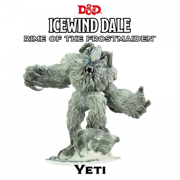 D&D: Icewind Dale - Rime of the Frostmaiden: Yeti (1 Figur)