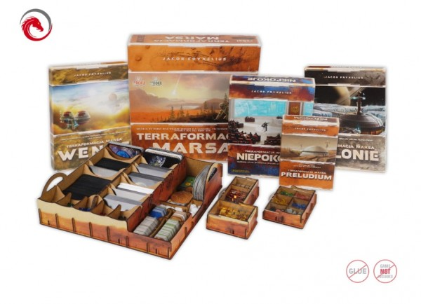 Insert: Terraforming Mars with all Expansions (UV Print)