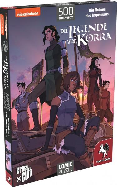 Puzzle: Die Legende von Korra (Die Ruinen des Imperiums), 500 Teile