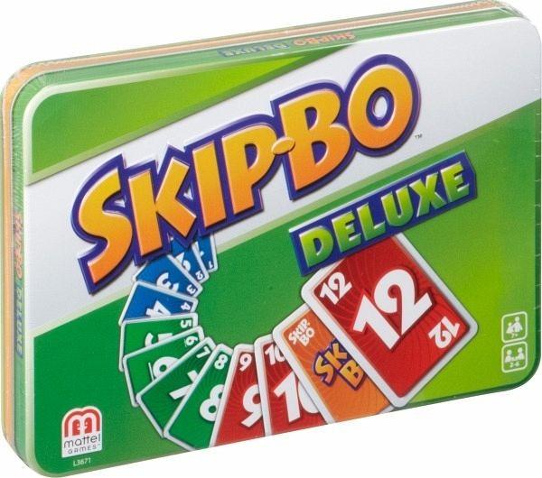 Skip-Bo – Deluxe ( in grüner Box )