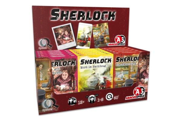 Sherlock – Display IV (15 Stück)