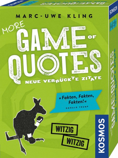 More Game of Quotes