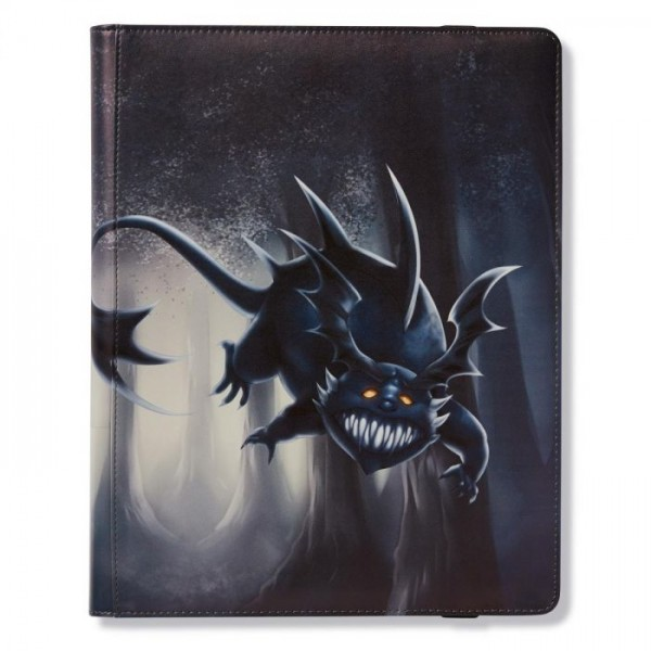 Dragon Shield: 18-Pocket Portfolio Binder - Wanderer (Black)