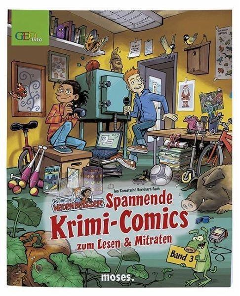 Redaktion Wadenbeißer – Verzwickte Krimi-Comics Bd. 3