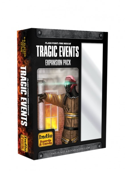 Flash Point: Fire Rescue - Tragic Events [Expansion Pack]