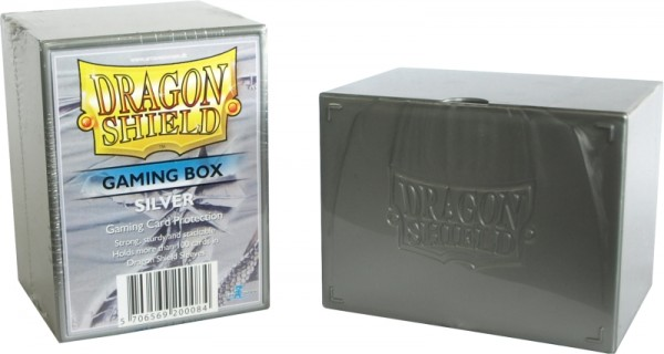 Dragon Shield: Gaming Box – Strong Box 100+: Silver