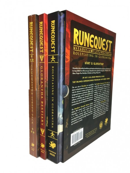 RuneQuest: Roleplaying in Glorantha DELUXE Slipcase
