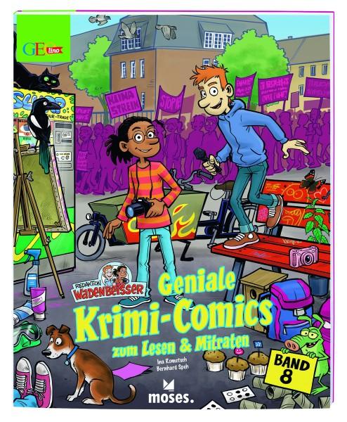 Redaktion Wadenbeißer – Verzwickte Krimi-Comics Bd. 8