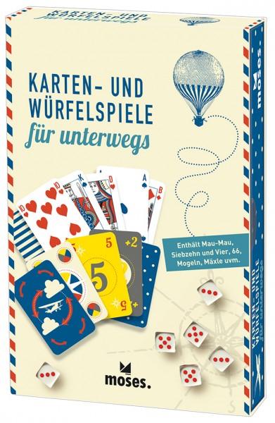 Fernweh Karten– und Würfelspiele für unterwegs