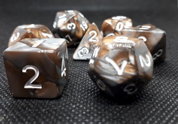 Würfelset Rusty: Gold (7)