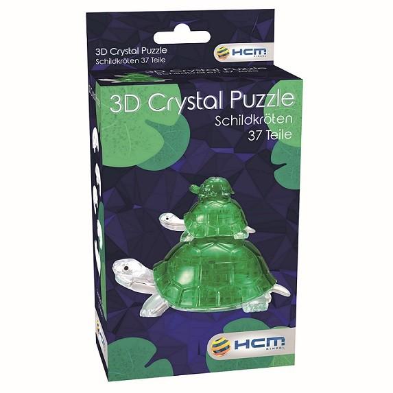 Crystal Puzzle: Schildkröten (37 Teile)