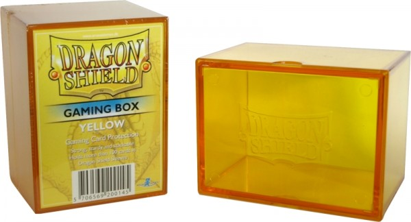 Dragon Shield: Gaming Box - Strong Box 100+: Yellow