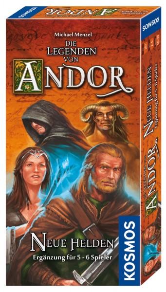 Die Legenden von Andor: Neue Helden [Erweiterung für 5-6 Spieler]