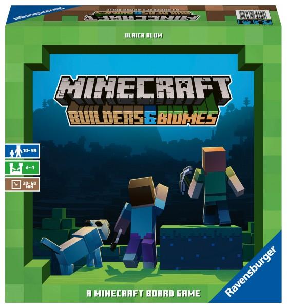 Minecraft – Builders & Biomes – das Brettspiel