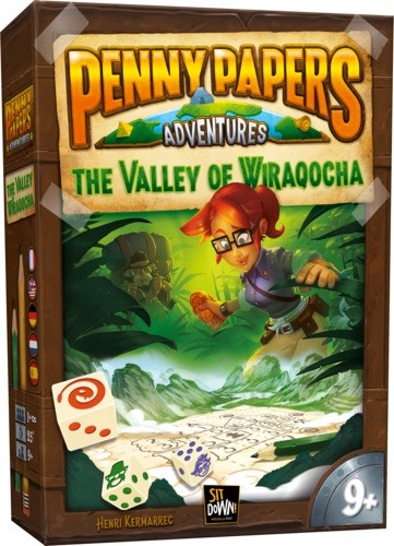 Penny Papers Adventures: Valley of Wiraqocha (multilingual)