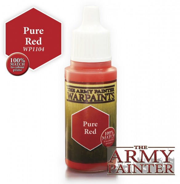 Army Painter Paint: Pure Red