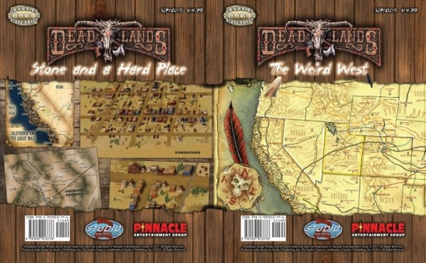 Deadlands Reloaded: Stone and a Hard Place Map