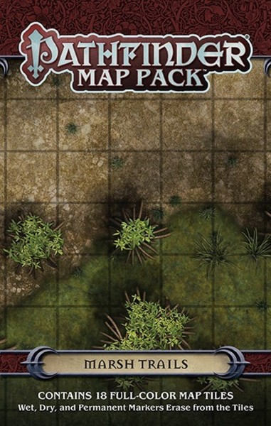 Pathfinder: GM Map Pack - Marsh Trails