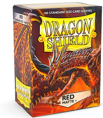 Dragon Shield: Matte – Red (100)