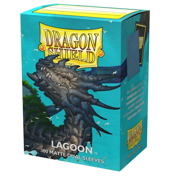 Dragon Shield: Matte – Dual Lagoon (100)
