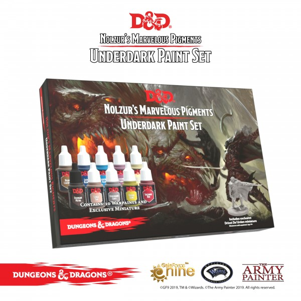 Army Painter - The Underdark Paint Set
