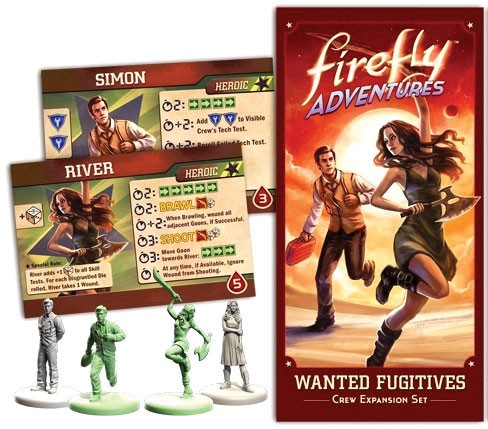 FIREFLY Adventures: Brigands & Browncoats - Wanted Fugitives Expansion
