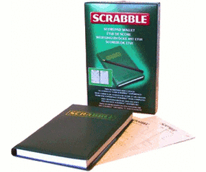 Scrabble – Wertungsblock m.Etui