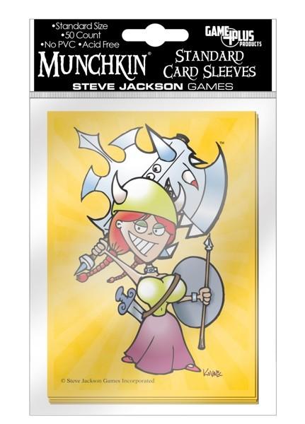 Munchkin Card Sleeves Flower