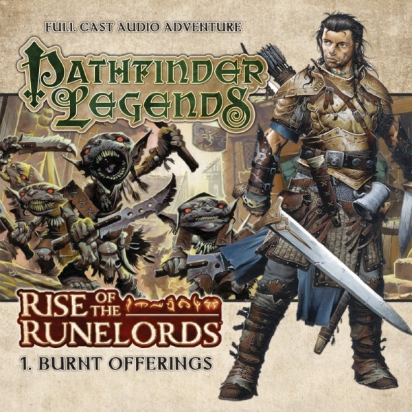 Pathfinder Legends: Burnt Offerings (Audio-CD)