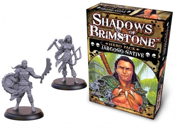 Shadows of Brimstone: Hero Pack – Jargono Native [Expansion]