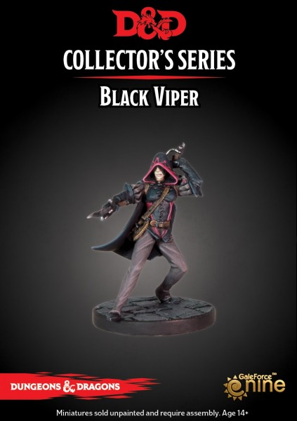 D&D: Waterdeep Dragon Heist - Black Viper (1 Figur)