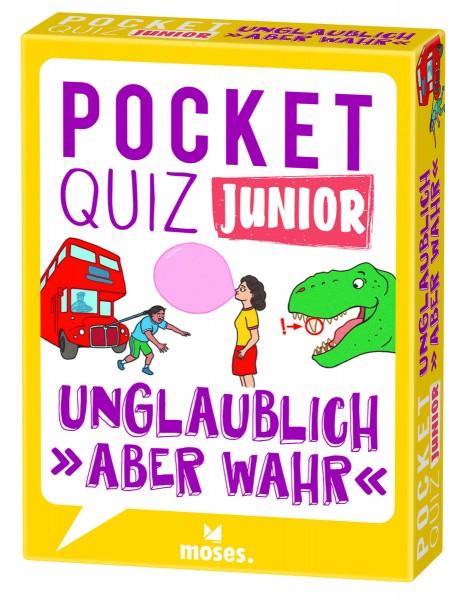 Pocket Quiz junior – Unglaublich, aber wahr