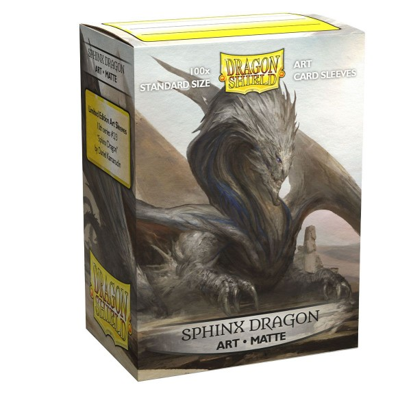 Dragon Shield: ART Sleeves Matte Classic – Sphinx Dragon (100)