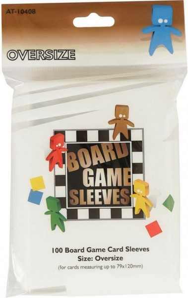 Board Game Sleeves: Oversize (100)