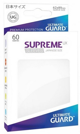Supreme UX Sleeves Japanese - White (60)