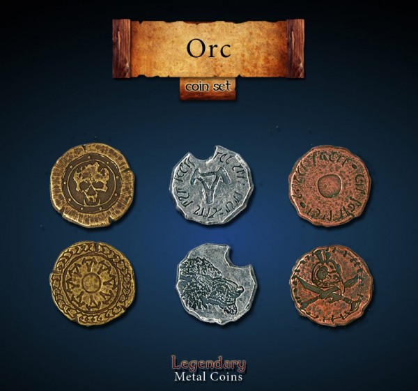Orc Coin Set (24 Stück)